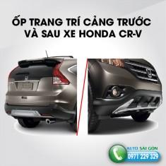 ỐP TRANG TRÍ CẢNG TRƯỚC VÀ SAU XE HONDA CR-V