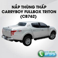 NẮP THÙNG THẤP CARRYBOY FULLBOX CB762 MITSUBISHI TRITON