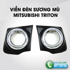 VIỀN ĐÈN SƯƠNG MÙ MITSUBISHI TRITON